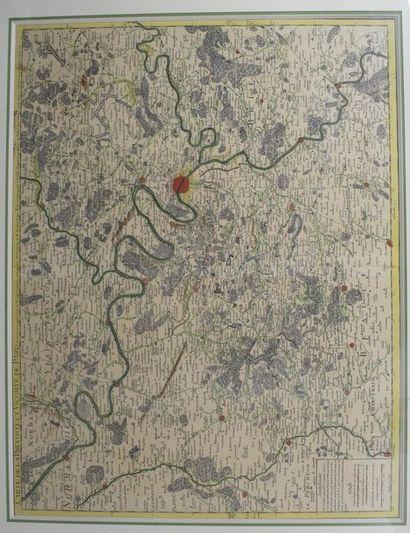 Carte de la Prévosté et Vicomté de Paris...