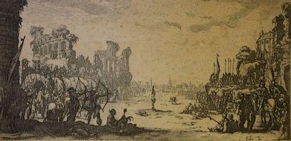 Jacques CALLOT (1592 - 1635) d'après  Le...