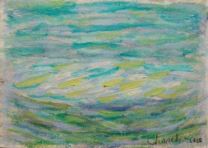 CHARCHOUNE Serge, 1888-1975  Composition,...