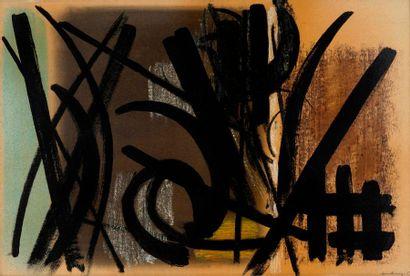 HARTUNG Hans, 1904-1989  Composition, 1952...
