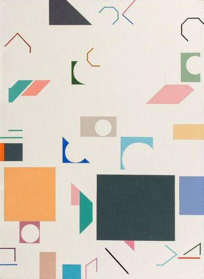 KIS Janos, 1932-2017  N°19  peinture sur...