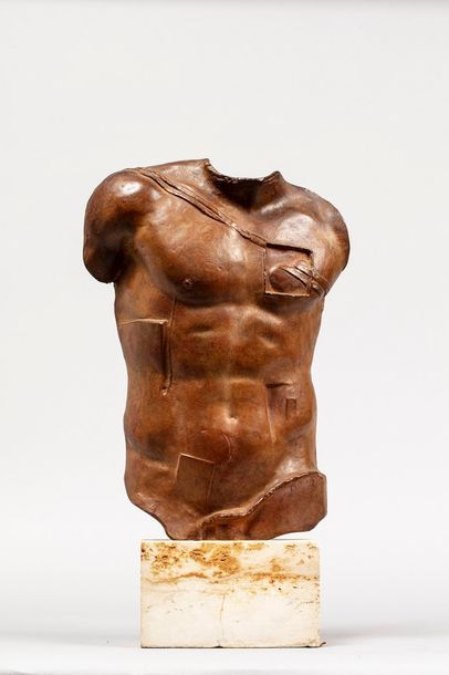 MITORAJ Igor, 1944-2014  Persée  bronze à...