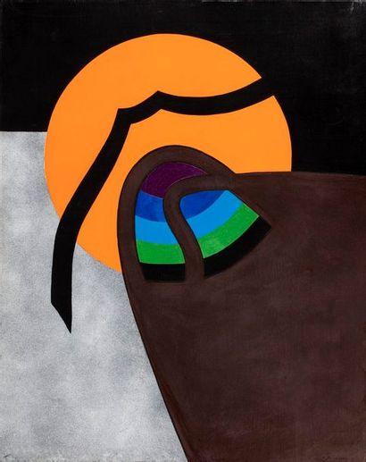 PICHETTE James, 1920-1996  Disque orange...
