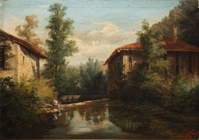 DE SIBUET Claude Louis, 1831-1879  Homme...