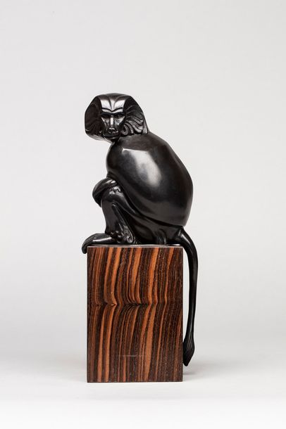 CONRAD Charles, 1912-?  Hamadryas  bronze...