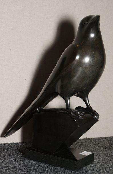 GALOYER François, né en 1944  Pie  bronze...