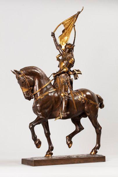 FREMIET Emmanuel, 1824-1910  Jeanne d'Arc...