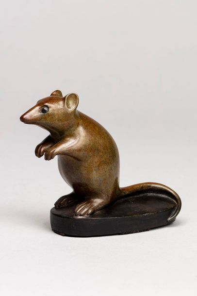 GALOYER François, né en 1944  Loir  bronze...