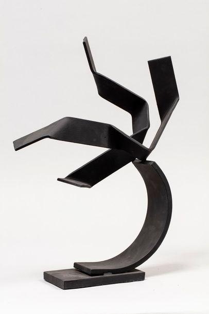 MALTIER Dominique, né en 1954  Sans titre, 2018  sculpture en métal soudé peint...