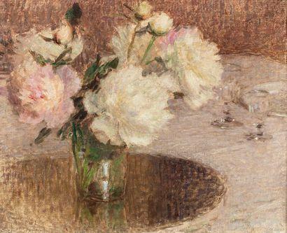 LAURENT Ernest, 1859-1929  Bouquet sur la...