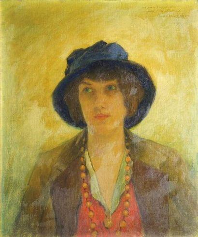 CHABAS Maurice, 1862-1947  Jeune fille au...