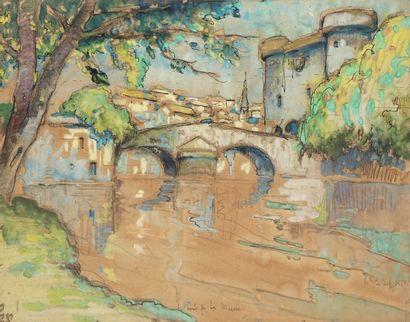 DE BELAY Pierre, 1890-1947  Les bords de...