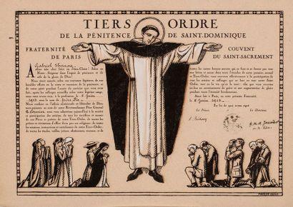 DENIS Maurice, 1870-1943 Tiers ordre de la...