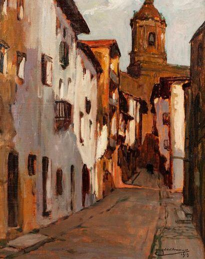 DOMERGUE Jean-Gabriel, 1889-1962  Ruelle...