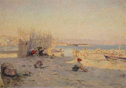 GAGLIARDINI Julien Gustave, 1846-1927 Trieurs...