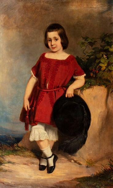 MÜLLER Constantin, c.1825-c.1875  Enfant...