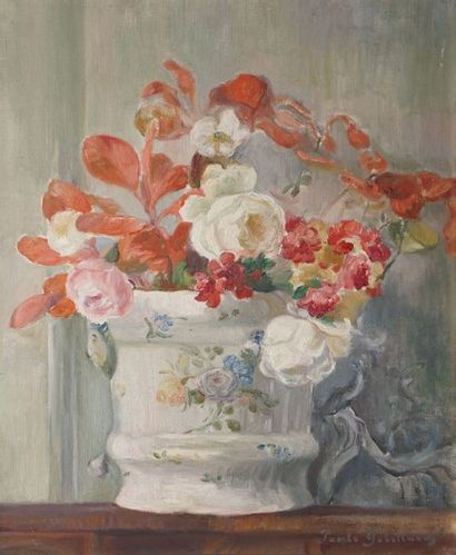 GOBILLARD Paule, 1869-1946  Bouquet dans...