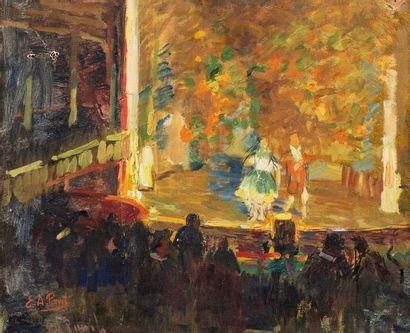 PAVIL Élie Anatole, 1873-1948  Music-hall...