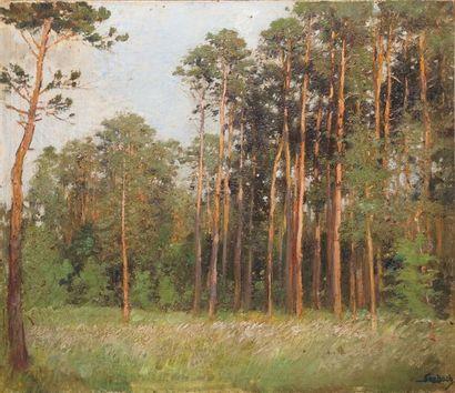 SEEBACH Lothar von, 1853-1930 L'orée des...