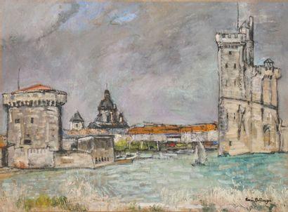 BELLANGER René, 1895-1964  Entrée du port...