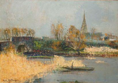 BELLANGER René, 1895-1964  Saint Joachim...