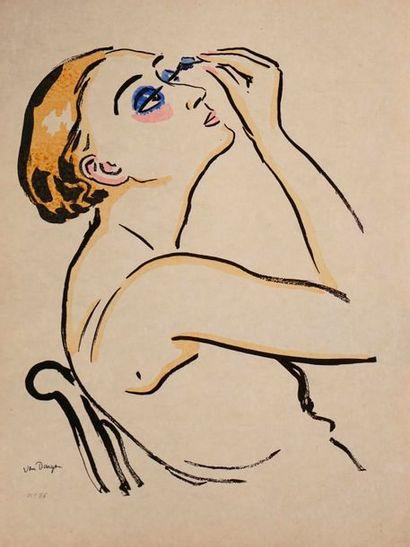 VAN DONGEN Kees, 1877-1968  Rimmel  lithographie...