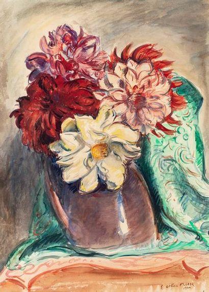 FRIESZ Émile Othon, 1879-1949  Bouquet au...