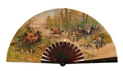 La chasse à courre (Charles Olivier De Penne...