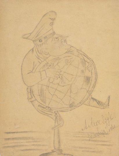 SZYK, Arthur (1894-1951) Militaire allemand...
