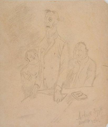 SZYK, Arthur (1894-1951) Militaires allemands...