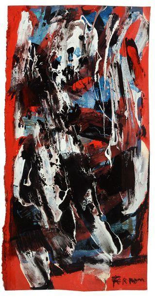 FERRON, Marcelle (1924-2001) Sans titre,...