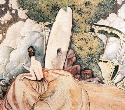 FORTIN, Marc-Aurèle (1888-1970) Jeune fille...