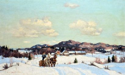 COBURN, Frederic Simpson (1871-1960) Traineau...