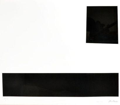 MOLINARI, Guido (1933-2004) Untitled (Study...