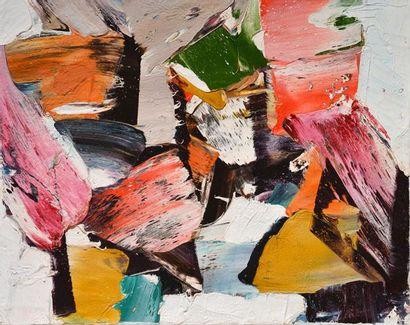 FERRON, Marcelle (1924-2001) Untitled Oil...