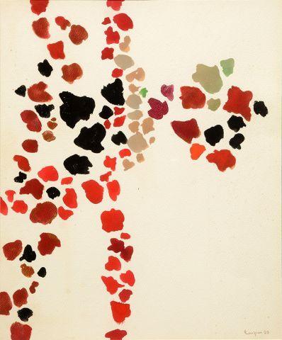 TOUPIN, Fernand (1930-2009) Untitled Gouache...