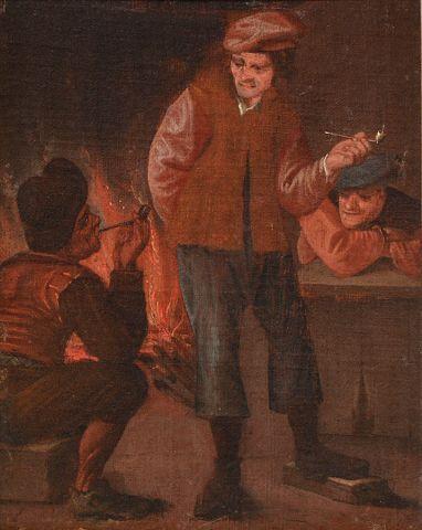 RAPHAEL, William (1833-1914) Smokers Oil...