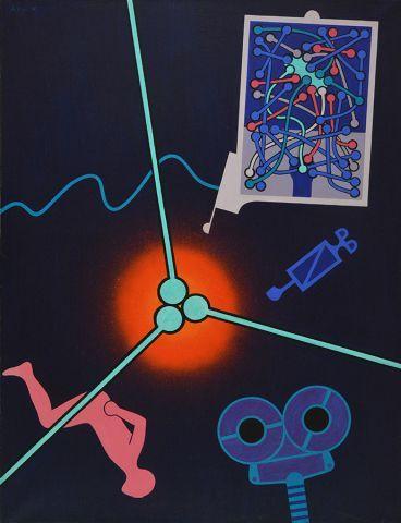 ALLEYN, George Edmund (1931-2004) Untitled...
