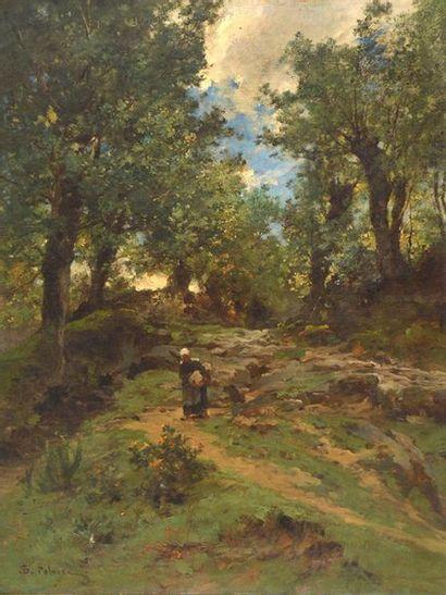 PELOUSE, Léon Germain (1838-1891) Solitary...