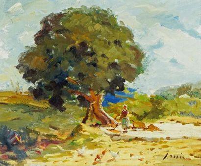 MIR Y TRINXET, Joaquín (1873-1937/40) Stroller...