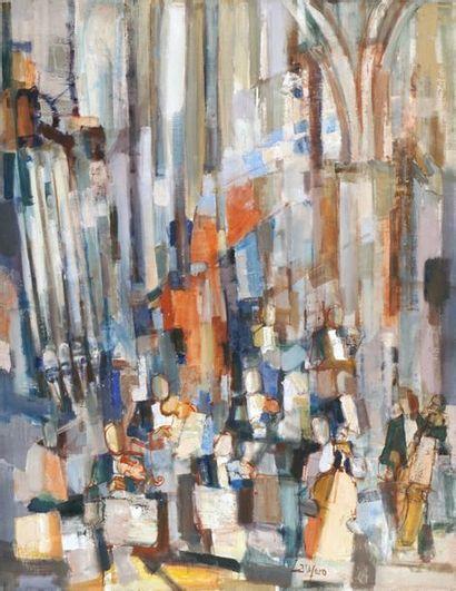 """LAUZERO, Albert (1909-2006) """"Prélude et Fugue..."""
