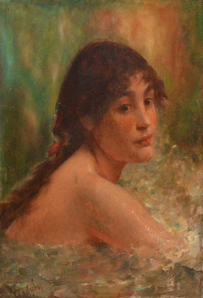 ENGSTFELD, Albert (1876-1956) Portrait of...
