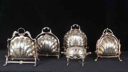 ART OF THE TABLE Set of 5 plate warmers Largest...