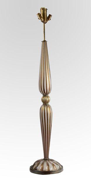 Mid-century modern style Murano floor lamp....