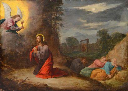 EUROPEAN SCHOOL 19TH C. Archangel appearing...
