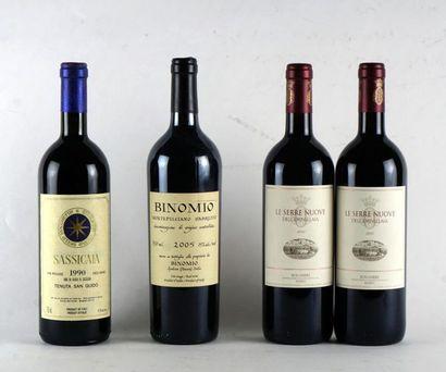 Sassicaia 1990 Vino da Tavola Niveau A-B...