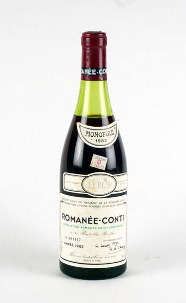 Romanée-Conti 1982 Romanée-Conti Appellation...