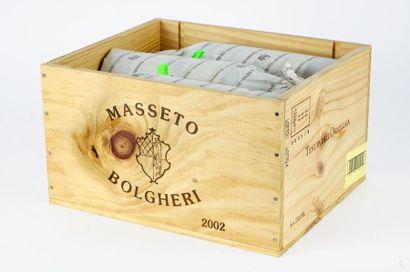 Masseto 2002 Toscana I.G.T. Niveau A 6 bouteilles...