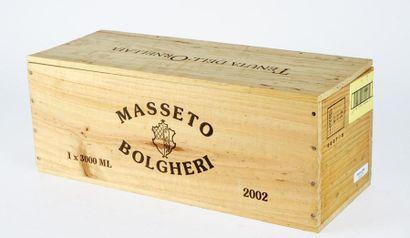 Masseto 2002 Toscana I.G.T. Niveau A 1 bouteille...