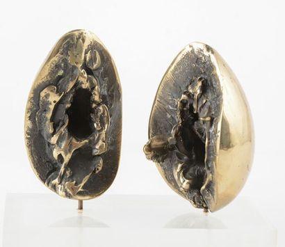 KLODE, Richard (1941-) Coquilles Bronze à...